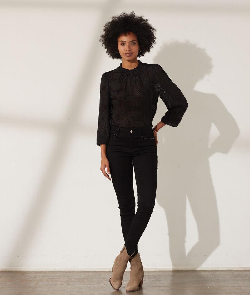 Slimfit jeans met push-up effect
