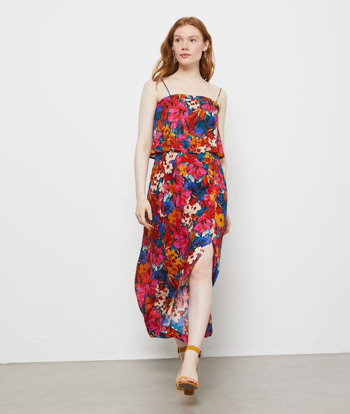 Robe imprimé patchwork à fleurs Etam Etam Prêt-à-porter > LES VÊTEMENTS > Robes > Robes Longues