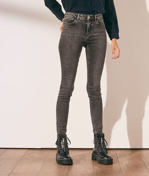 Gebleekte skinny jeans
