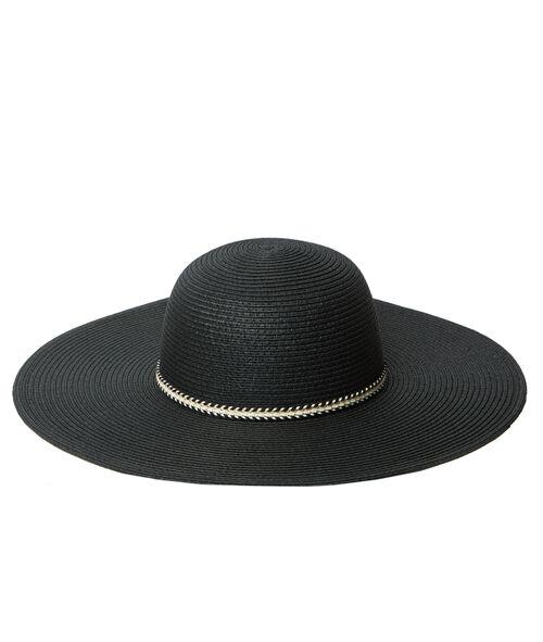 Chapeau de paille, élastique fantaisie