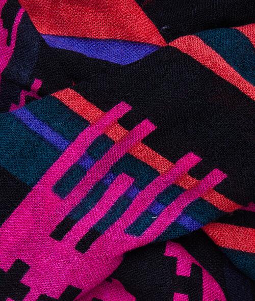 Sjaal grafische print