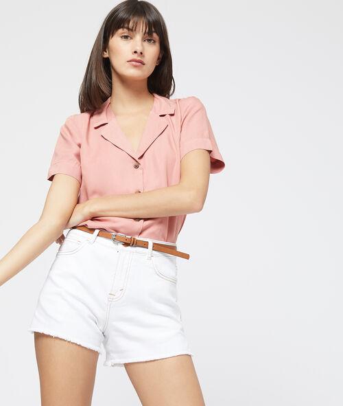 Short en jean avec ceinture Etam Etam Prêt-à-porter > LES VÊTEMENTS > Shorts
