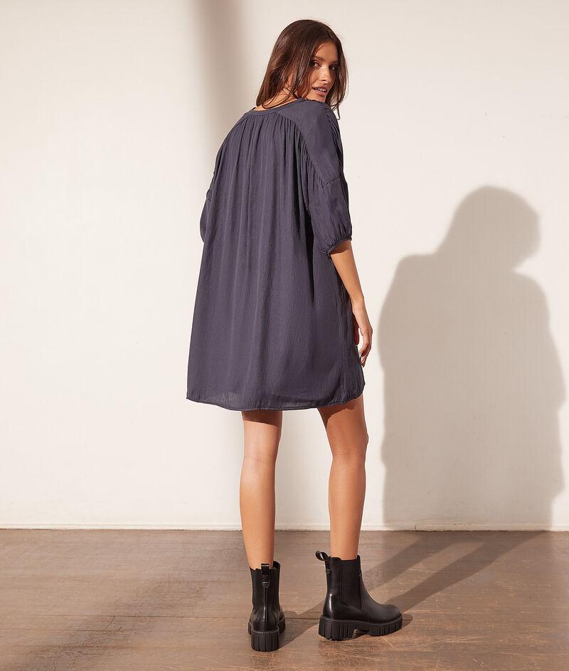 Korte katoenen jurk