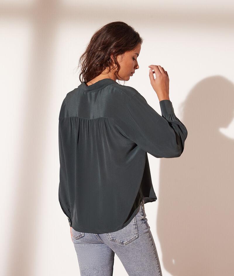 zijden hemd