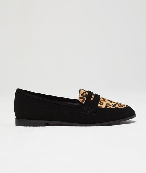 Mocassins à imprimé léopard Etam Etam Prêt-à-porter > ACCESSOIRES > Chaussures