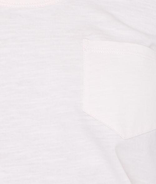 T-shirt met ronde kraag, katoen