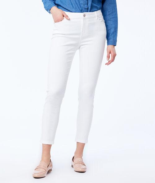 Pantalon slim court en coton Etam Etam Prêt-à-porter > LES VÊTEMENTS > Pantalons > Slims