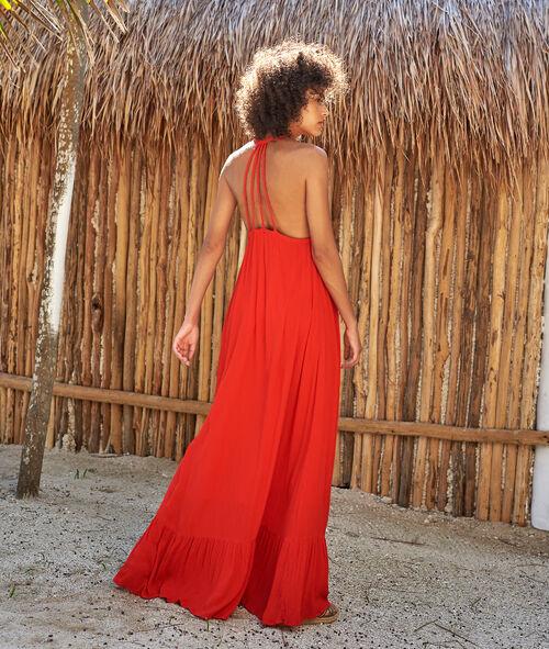 Robe de plage liens au dos Etam Etam Maillots de Bain > BEACHWEAR > Tuniques et robes de plage