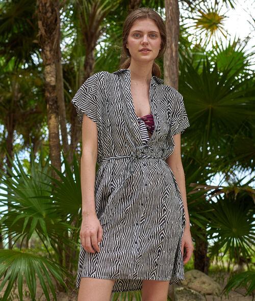 Robe chemise de plage en coton Etam Etam Maillots de Bain > BEACHWEAR > Tuniques et robes de plage