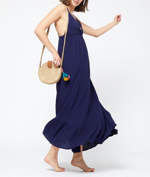 Robe de plage liens au dos Etam Etam Prêt-à-porter > LES VÊTEMENTS > Robes > Robes Longues