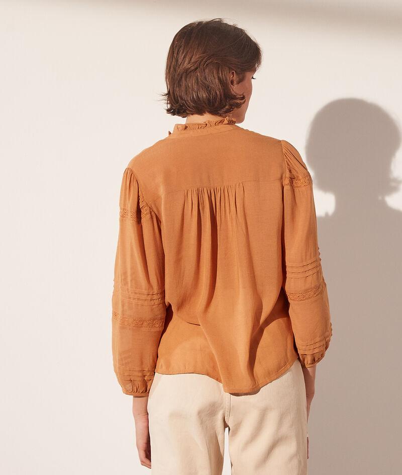 Opengewerkte blouse