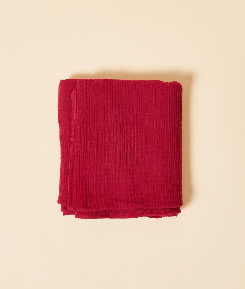 Foulard en gaze de coton