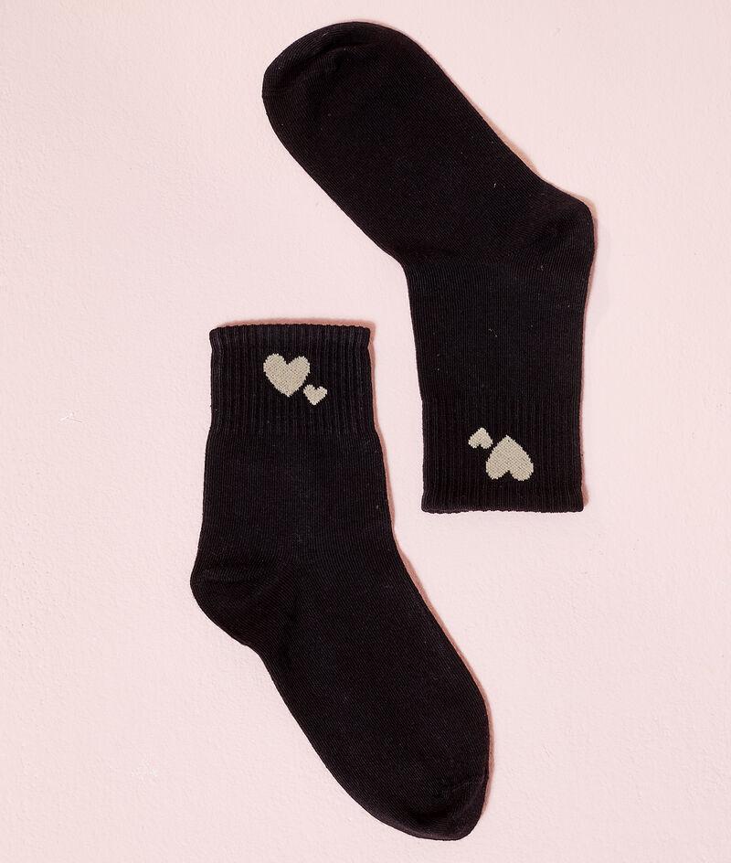 Chaussettes coeurs