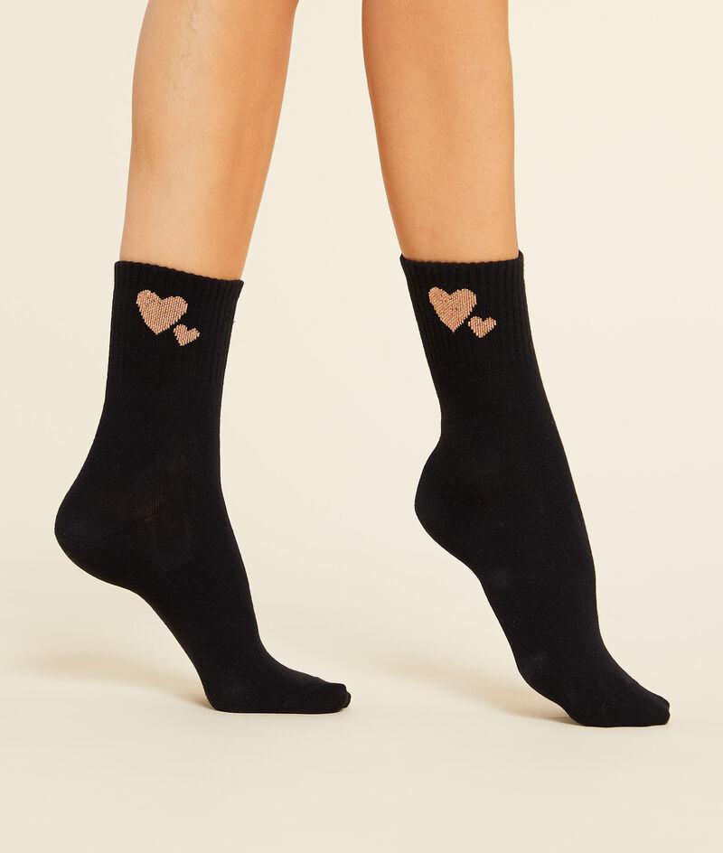 Must-have sokken met hartjesmotief