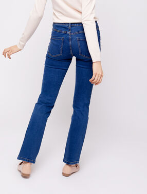 Straight jeans stone.
