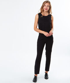 Combinaison habillée noir.