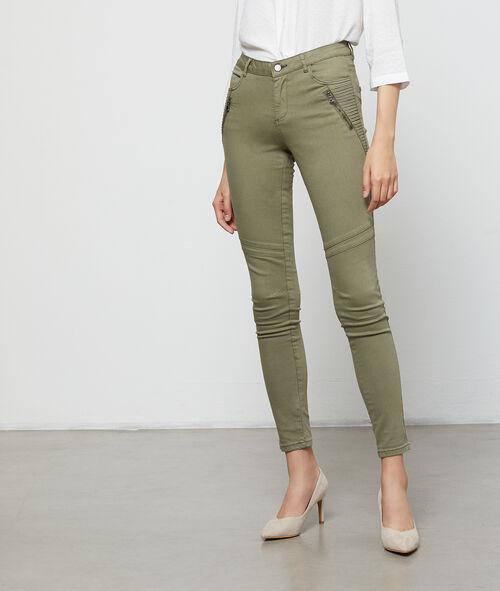 Pantalon slim à poches zippées Etam Etam Prêt-à-porter > VÊTEMENTS > Pantalons > Slims