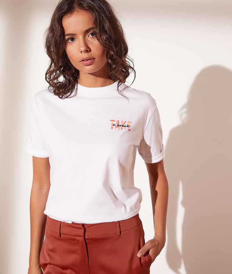 T-shirt 'take a break'
