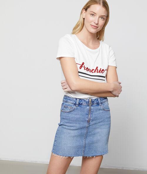 Jupe en jean zippée Etam Etam Prêt-à-porter > LES VÊTEMENTS > Jupes > Jupes Courtes