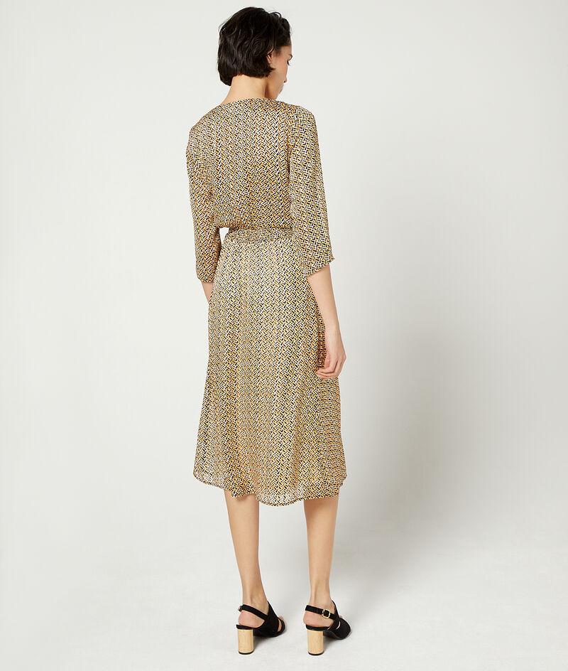 Lange gesmokte jurk