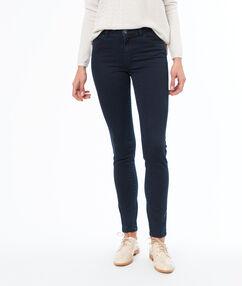 Pantalon slim coton majoritaire brut.