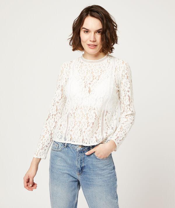 Guipure blouse