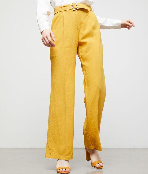 Pantalon large ceinturé Etam Etam Prêt-à-porter > LES VÊTEMENTS > Pantalons > Larges