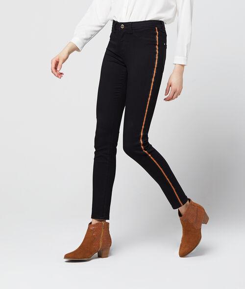Jean skinny à bandes latérales Etam Etam Prêt-à-porter > LES VÊTEMENTS > Jeans > Skinny