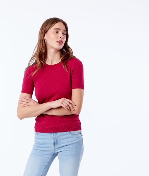 T-shirt en maille fine Etam Etam Prêt-à-porter > VÊTEMENTS > Tops & T-Shirts > Manches Courtes