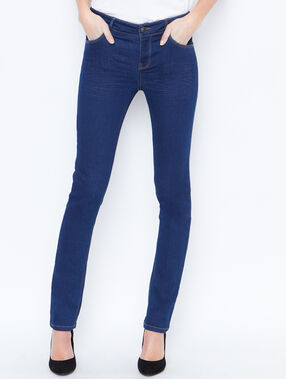 Slim fit jeans blauw.
