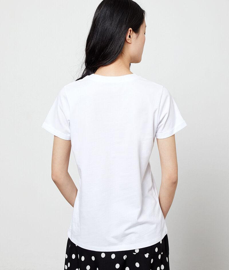 T-shirt à broderies