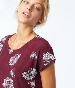 T-shirt à imprimé floral anemone.