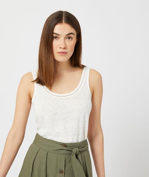 Débardeur 100% lin Etam Etam Prêt-à-porter > LES VÊTEMENTS > Tops & T-Shirts - 2° à -50% > Sans Manches