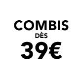 Combis dès 39€
